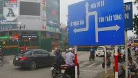 Tổ chức giao thông phục vụ thi công đường Trường Chinh
