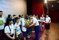 Thanh tra Sở GTVT Hà Nội tuyên dương học sinh có thành tích học tập tốt