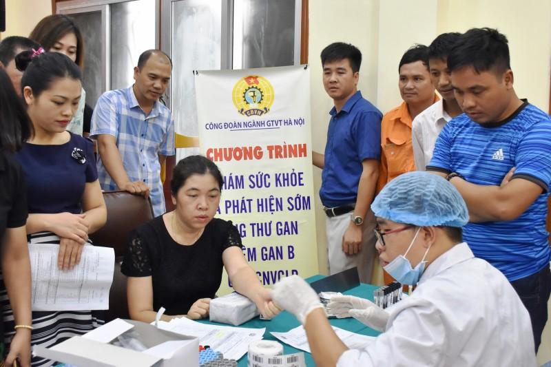 Công đoàn ngành GTVT Hà Nội: Chú trọng chăm sóc sức khỏe người lao động