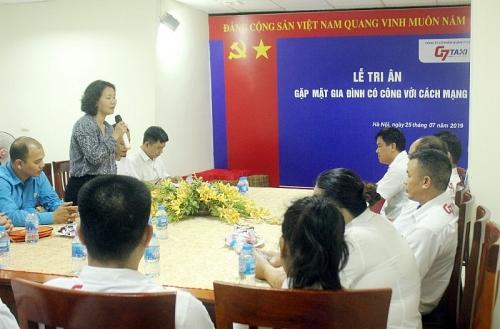Ngành GTVT Hà Nội thăm và tặng quà các gia đình chính sách