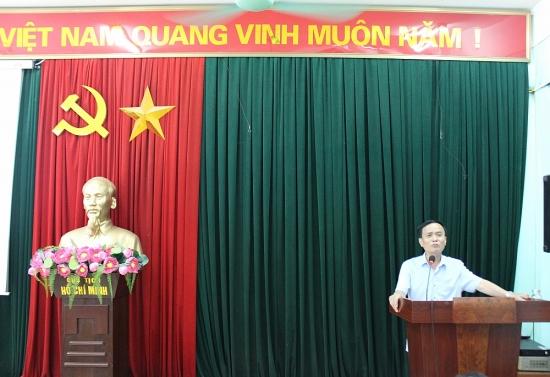 Liên đoàn Lao động quận Hà Đông tập huấn về Điều lệ Công đoàn Việt Nam khóa XII
