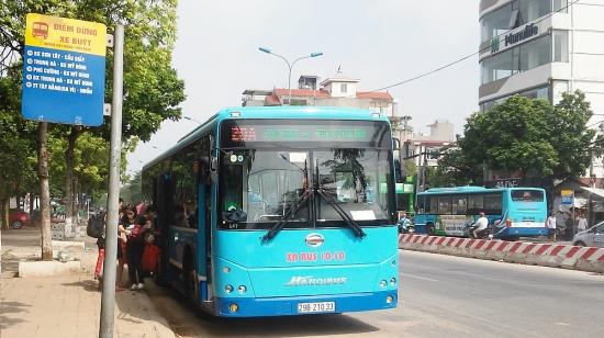 Xe buýt Thủ đô – Người bạn đồng hành thân thiện