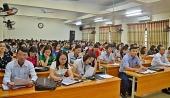 LĐLĐ thị xã Sơn Tây tổ chức tập huấn nghiệp vụ công tác công đoàn