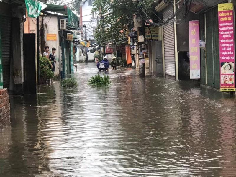 Tập trung kiểm tra, rà soát các khu vực có nguy cơ ngập lụt