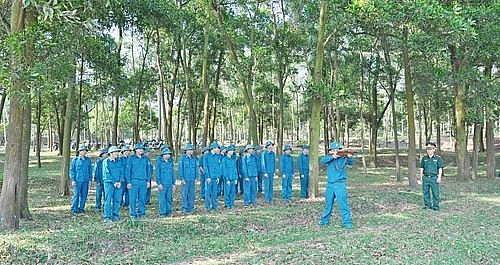 Thị xã Sơn Tây: Không ngừng củng cố, xây dựng nền quốc phòng toàn dân