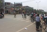 Hà Nội triển khai các biện pháp đảm bảo giao thông tại các cổng trường