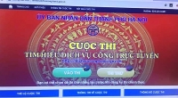 Thị xã Sơn Tây: Đẩy mạnh tìm hiểu Dịch vụ công trực tuyến trên địa bàn