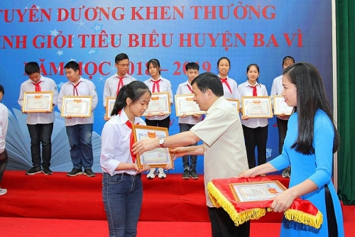 Huyện Ba Vì tháo gỡ khó khăn để nâng cao chất lượng giáo dục