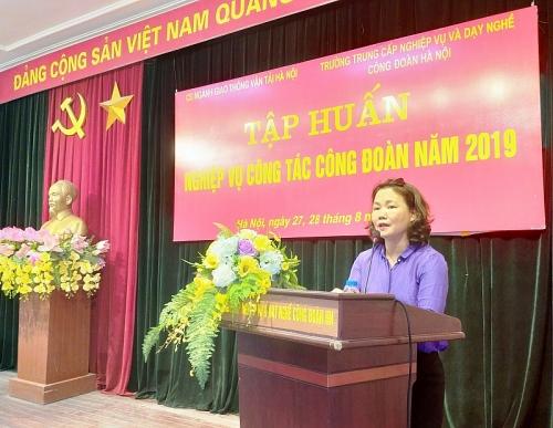 trien khai tap huan nghiep vu cong tac cong doan nam 2019