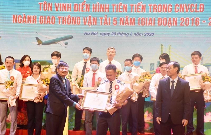 Công đoàn Giao thông Vận tải Việt Nam tôn vinh hơn 100 điển hình tiên tiến