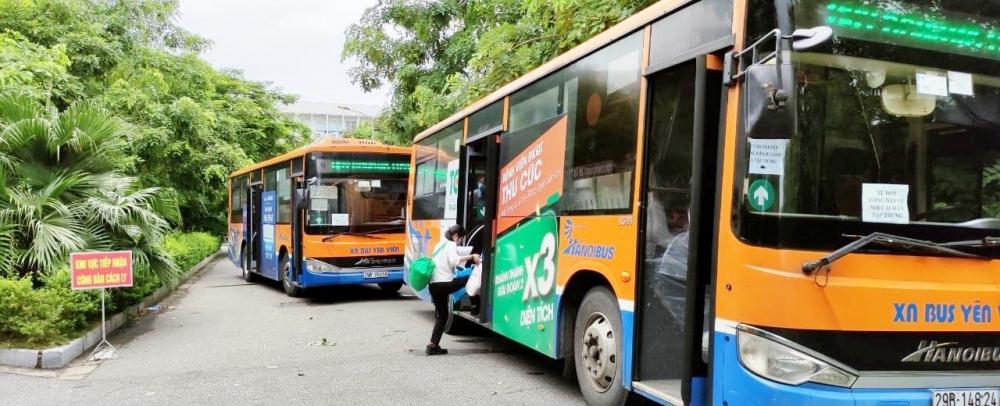 Transerco đưa đón hơn 200 công dân F1 hết thời gian cách ly về địa phương