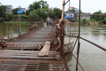 Sở GTVT Hà Nội: Chưa thể xóa bỏ ngay những cây cầu phao