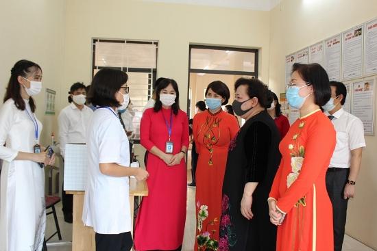Kiểm tra công tác phòng, chống dịch Covid-19 tại Sơn Tây