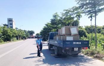 Nhiều vi phạm vận tải bị xử lý trong tháng 8/2020