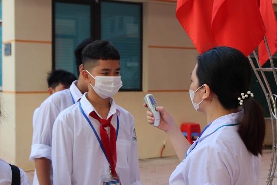 Trường Trung học cơ sở Sơn Tây: Tăng cường đảm bảo an toàn cho học sinh trước dịch Covid-19