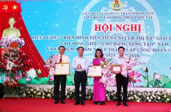 Liên đoàn Lao động thị xã Sơn Tây: Chú trọng công tác thi đua khen thưởng