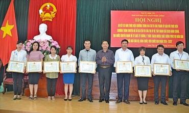 Thị xã Sơn Tây chú trọng thực hiện cải cách hành chính