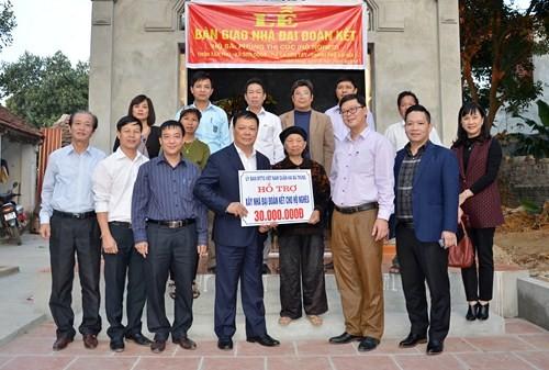 """Sơn Tây tổ chức nhiều hoạt động """"Vì người nghèo"""""""