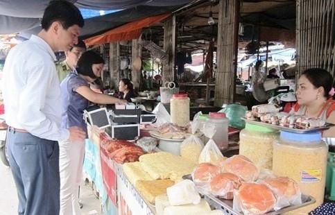 Tăng cường quản lý về an toàn thực phẩm