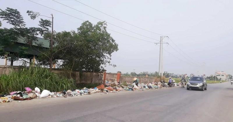 Cần chấn chỉnh hoạt động tập kết rác thải