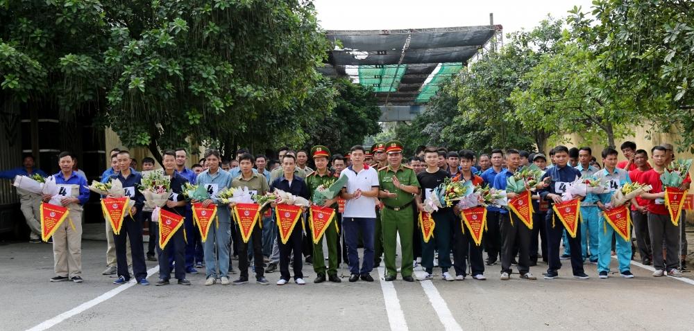 Hội thao nghiệp vụ chữa cháy và cứu nạn, cứu hộ tại Cụm Công nghiệp Phú Thịnh