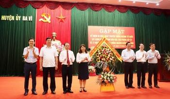 Huyện Ba Vì kỷ niệm 90 năm ngày truyền thống ngành tổ chức xây dựng Đảng