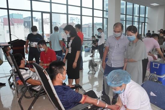 Lan tỏa phong trào hiến máu tình nguyện trong đoàn viên, người lao động