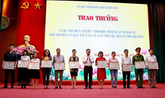 Sơn Tây hưởng ứng Ngày pháp luật Việt Nam
