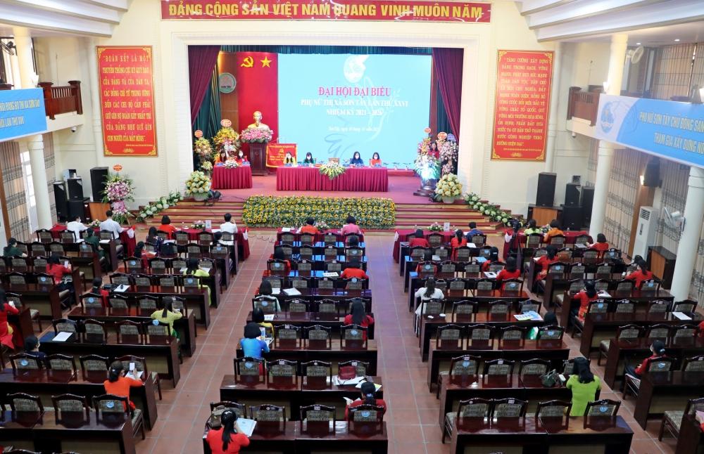 Hội LHPN thị xã Sơn Tây tổ chức Đại hội đại biểu lần thứ XXVI nhiệm kỳ 2021-2026