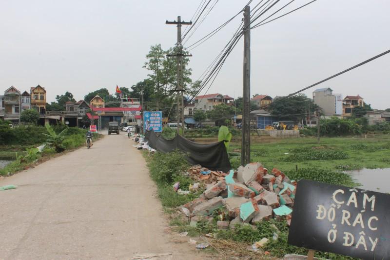 Huyện ủy Chương Mỹ vào cuộc xử lý ô nhiễm rác thải ở Đông Phương Yên
