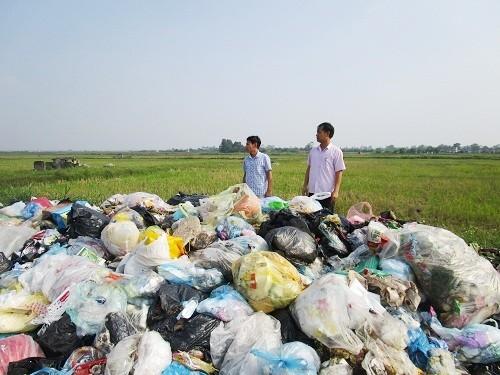 Tăng cường giám sát việc thu gom vận chuyển rác thải