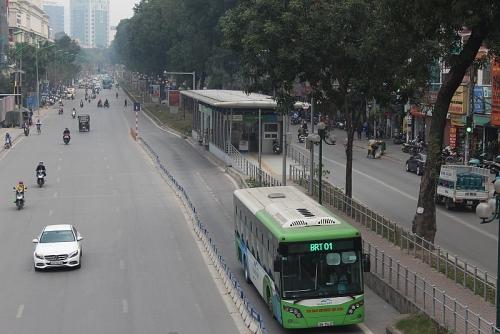 Mạng lưới xe buýt đã phủ khắp Hà Nội