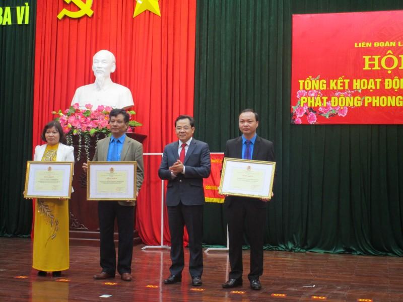Thông qua danh sách đề nghị khen thưởng trong hoạt động Công đoàn