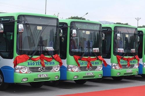 Hà Nội thêm nhiều tuyến buýt sử dụng nhiên liệu sạch