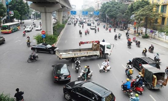 Cần xem xét, bố trí lại điểm mở giao thông trên đường Nguyễn Trãi