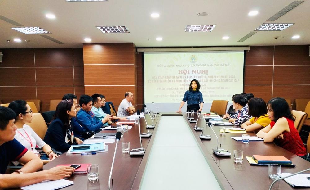 Công đoàn ngành Giao thông vận tải Hà Nội: Lấy hiệu quả làm thước đo