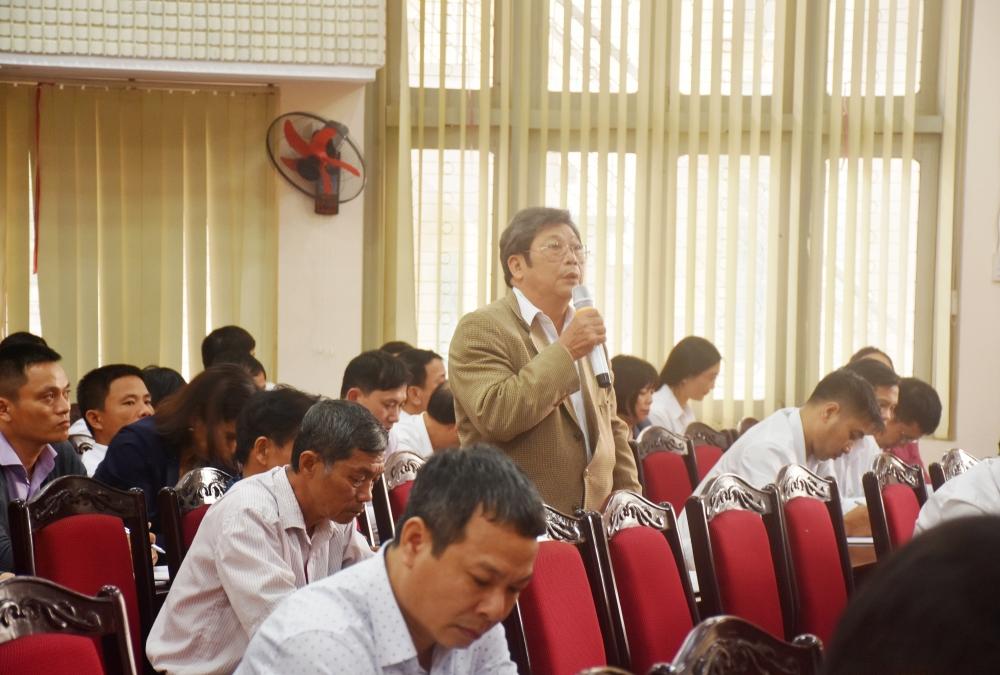 """Cử tri thị xã Sơn Tây kiến nghị nhiều vấn đề """"nóng"""" của địa phương"""