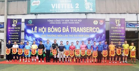 Tổng công ty Vận tải Hà Nội khai mạc Giải bóng đá thường niên lần thứ XIV – Năm 2020