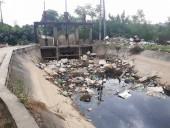 Hoài Đức: Mương thoát nước trở thành… hố rác