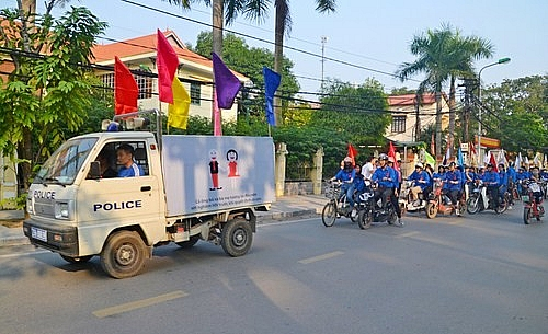 Sơn Tây hưởng ứng Tháng Hành động Quốc gia phòng, chống HIV/AIDS