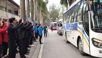 Hỗ trợ phương tiện đưa người lao động về quê đón Tết