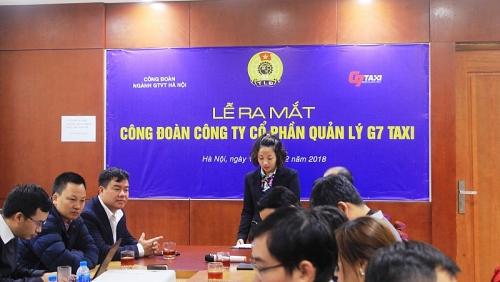 Ra mắt Công đoàn Công ty cổ phần Quản lý Taxi G7