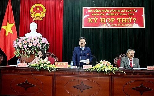 Thị xã Sơn Tây: Nhiều vấn đề cử tri quan tâm được ghi nhận