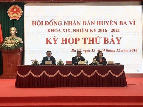 HĐND huyện Ba Vì: Nhiều vấn đề quan trọng được đưa ra thảo luận