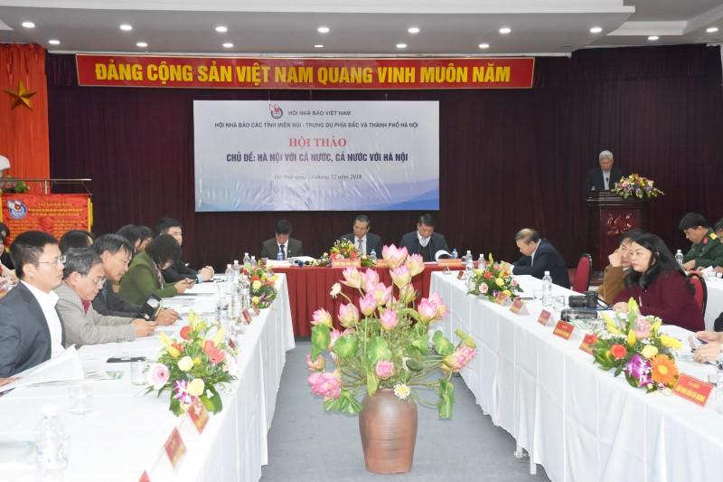 Tăng cường liên kết Hà Nội với cả nước, cả nước với Hà Nội