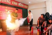 Quận Ba Đình: Nâng cao nhận thức người dân về công tác phòng chống cháy nổ