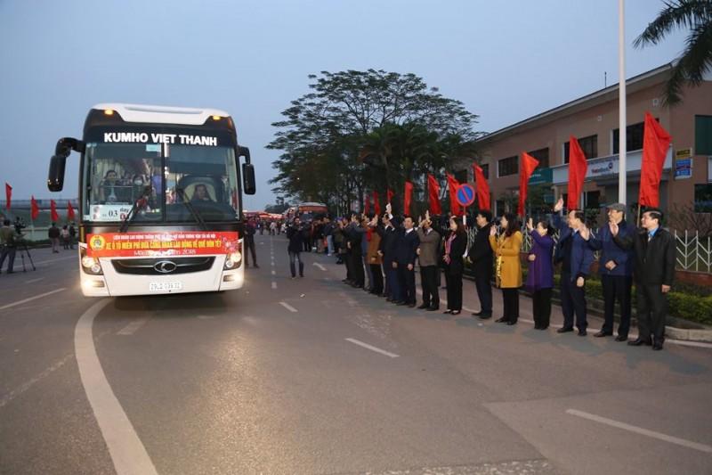 Kêu gọi ủng hộ phương tiện đưa người lao động về quê đón Tết