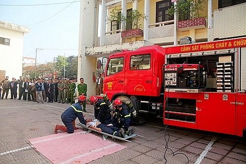 Sơn Tây tập huấn công tác phòng cháy chữa cháy