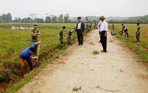 Nhiều hoạt động thiết thực chung sức xây dựng nông thôn mới