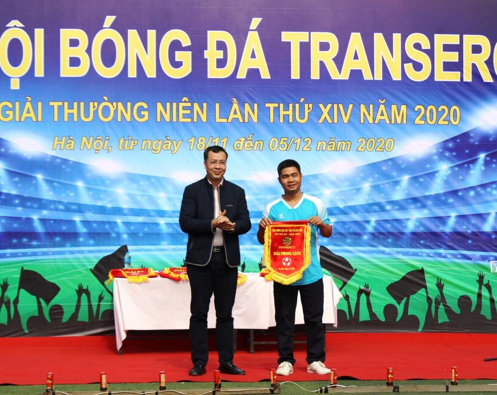Bế mạc Giải bóng đá Tổng công ty Vận tải Hà Nội năm 2020